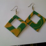 Earrings - Green 2